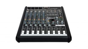 Mixer - Série PROFX - Analógico de 8 canais com 2 auxiliares e 3 bandas de EQ e USB 2x2